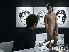 Twink has sex on audition for the second time