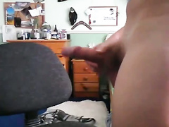 Cute boy is obsessed with masturbation and cum