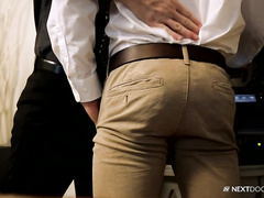 Alex Tanner is under kinky office domination