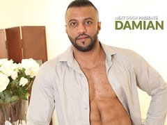 Damian C boasts with his great muscular body