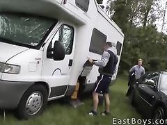 Gay boy bares off body and enjoys masturbation